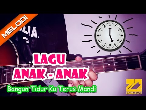 Tutorial Melodi Bangun Tidur Ku Terus Mandi | Lagu Anak - Anak
