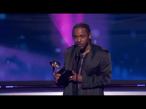 Kendrick Lamar DAMN   Best Rap Album   60th GRAMMYs