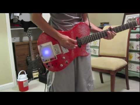 Knights of Cydonia [MUSE HD Guitar Cover]  - Manson Red Glitter/Glitterati Replica