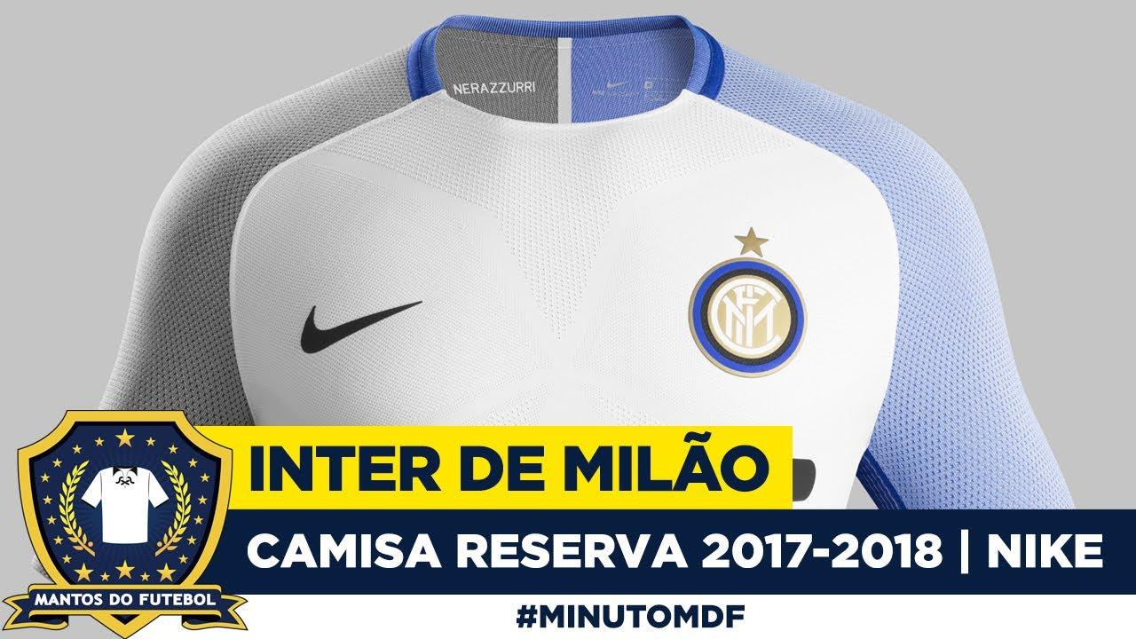 040e497124 🐍 Camisa reserva da Inter de Milão 2017 2018 Nike - YouTube