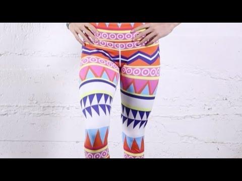 Flexi Lexi Yoga Legging Aztec Print