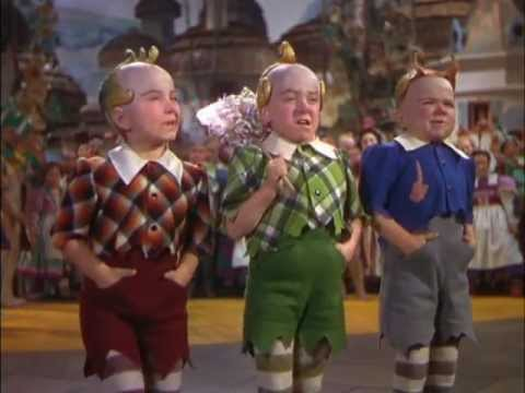 The Lollipop Guild - Original Munchkin Actors' Voices