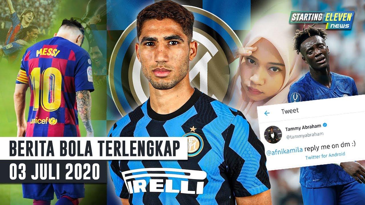 Abraham Dicuekin Cewek Bekasi 😱RESMI Hakimi Ke Inter 😱Messi TINGGALKAN Barca Tahun 2021 -Berita Bola