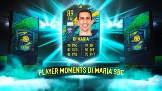 AMAZING MOMENTS SBC DI MARIA! (89, LW) - FIFA 20 Ultimate Team