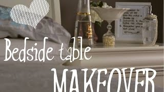 Bedside Table Makeover for Chronically ill: 4 easy, quick ideas!