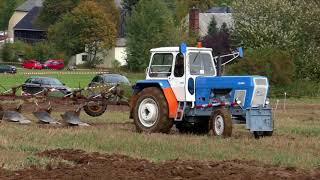 zt300 mit 5 Schar Pflug bei der Arbeit || Traktorfreunde