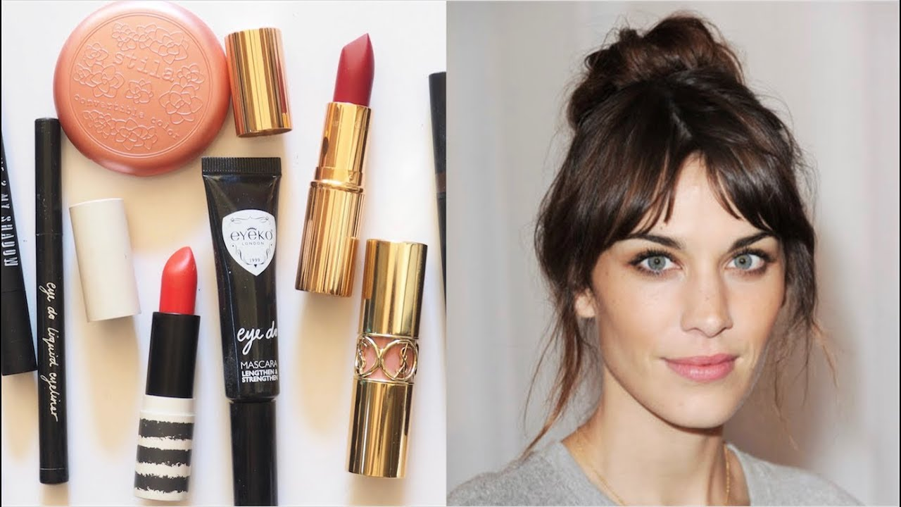 09d31ccaed5d Alexa Chung Makeup Bag | Brit Beauty, Skincare and Style - YouTube