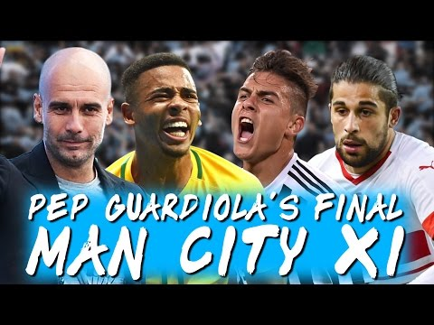 Guardiola's DREAM Manchester City XI | Football Manager 2017 Simulation