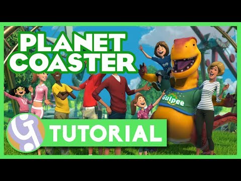 🎡 Starting Out - Beginner's Guide #1 | Planet Coaster Tutorial