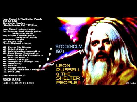 Leon Russell & The Shelter People 1971-11-26  Stockholm, Swe