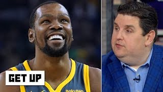 Kevin Durant can make an extra $57M in free agency and still ask for a trade - Windhorst | Get Up