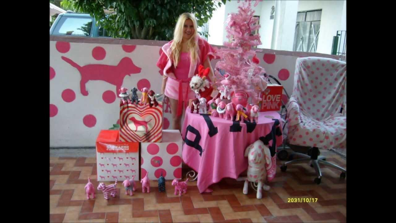 Decoracion navidena muy rosa victorias secret fan youtube - Decoracion fiesta navidena ...
