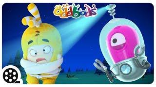 ALIEN  ATTACK | Oddbods | Spooky Halloween Cartoons For Children