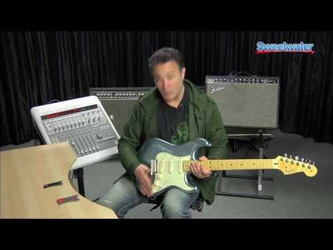 Fender American Deluxe Strat Plus Electric Guitar Demo - Sweetwater Sound
