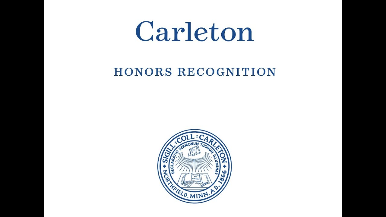 Honors Convocation is an annual celebration each spring to recognize those students who have achieved distinction through academic or personal achievement. While we are unable to hold the convocation this year, we nonetheless want to acknowledge these students. Congratulations!