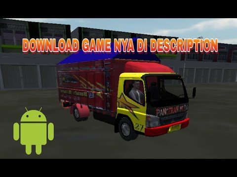Review IDBS Truck Simulator Indonesia - Truck Canter Angkut Cabe