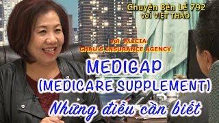 MC VIỆT THẢO- CBL(792)- MEDIGAP (MEDICARE SUPPLEMENT) với ALICIA CHAU - January 13, 2019