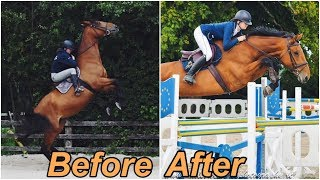 FIONA'S 1 YEAR PROGRESS // Problem Horse To 1m20 Showjumper