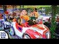 Lagu Anak Naik Becak Sambil Naik Mobil Odong Odong Lucu