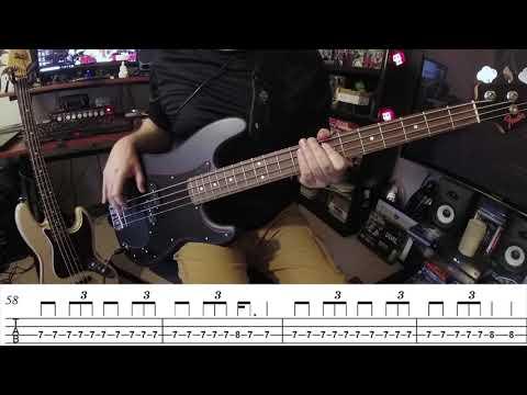 Metallica-Four Horsemen Bass Cover-With Tab-Cliff Burton