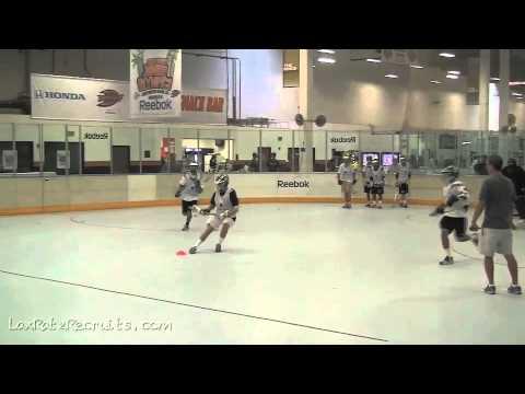Box Lacrosse In Huntington Beach Rink, CA