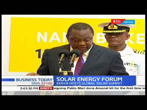 Solar energy forum in Nairobi Kenya