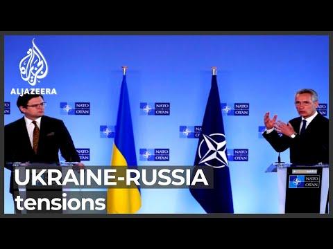 NATO warns Russia over forces near Ukraine