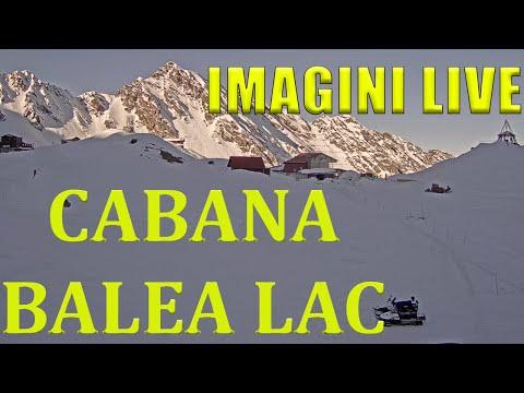 Cabana Balea Lac Live - Slow TV - 2034m în Munții Făgăraș
