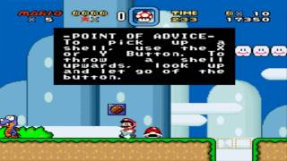 Secret Keys Super Mario World Hints For Super Nintendo