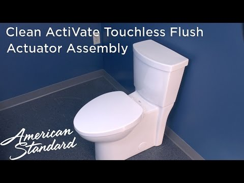 How To Install An Actuator Assembly For An ActiVate Toilet
