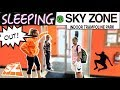 24 HOUR OVERNIGHT CHALLENGE IN SKYZONE!! ⏰ (Completed) | Christian Lalama