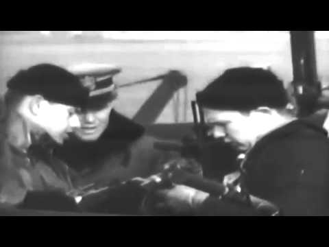 Armed Guard On Merchant Marine Ship, WW2 12/15/1945 (full)