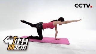 《健身动起来》身体核心及腿部力量训练教学展示 20181203 | CCTV体育