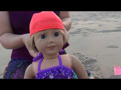 Oyuncak Bebeklerim İçin Havuz, Deniz Seti Açtık Deniz Kenarında Oyuncak Açma Bidünya Oyuncak
