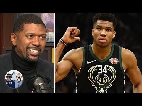 Jalen Rose loves how Giannis Antetokounmpo handles himself around NBA superstars l Jalen & Jacoby