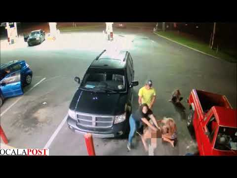 Attack at Circle K in Ocala, Florida