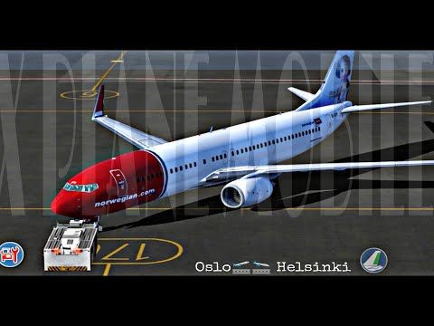 Oslo🛫🛬 Helsinki/X Plane 10 Mobile Global