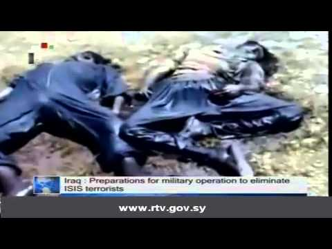 Daily Newscast of Syrian TV, 04012014
