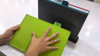 Набор разделочных досок Joseph Joseph Index™ Chopping Board Set видеообзор
