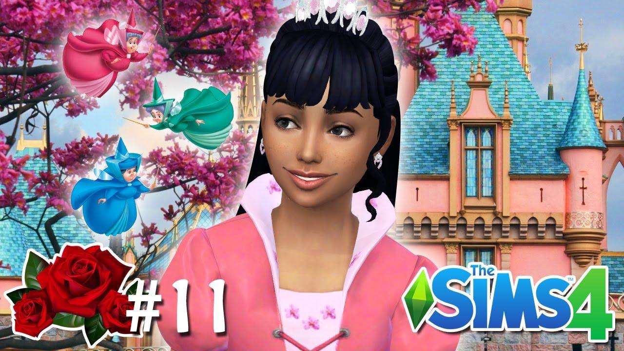 AURORA CRESCEU - Desafio da Aurora #11 - The Sims 4