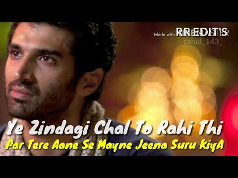 Whatsapp Status .. Aashqui 2 dialogue .. by RR