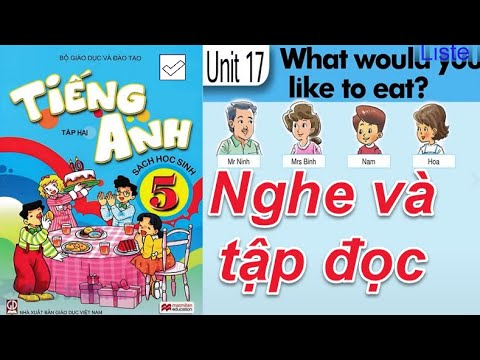 Tiếng Anh Lớp 5 UNIT 17  WHAT WOULD YOU LIKE TO EAT ( Nghe và đọc )