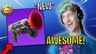 Ninja First Time Using *NEW* Grappling Hook! | Fortnite Highlights & Funny Moments