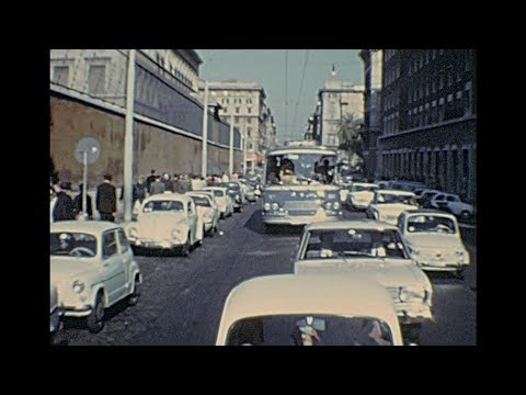 Rome 1967 archive footage