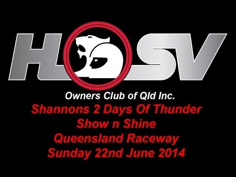 Shannons 2 Days Of Thunder at Qld Raceway - Sunday 22nd June 2014