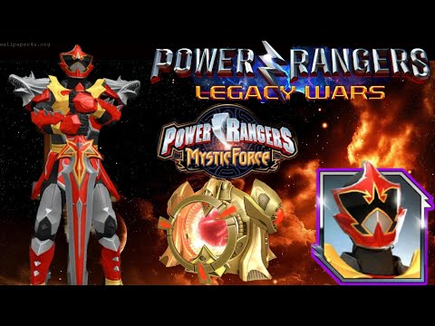 "Unboxing For LeanBow ""Wolf Warrior"" Burning Heart Of Fire~ Power Rangers Legacy Wars Mp3"