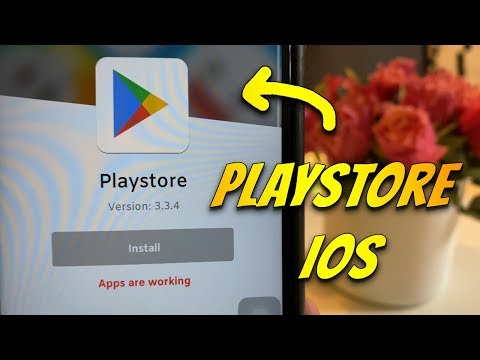 How To Download Playstore On IPhone IOS (2020)