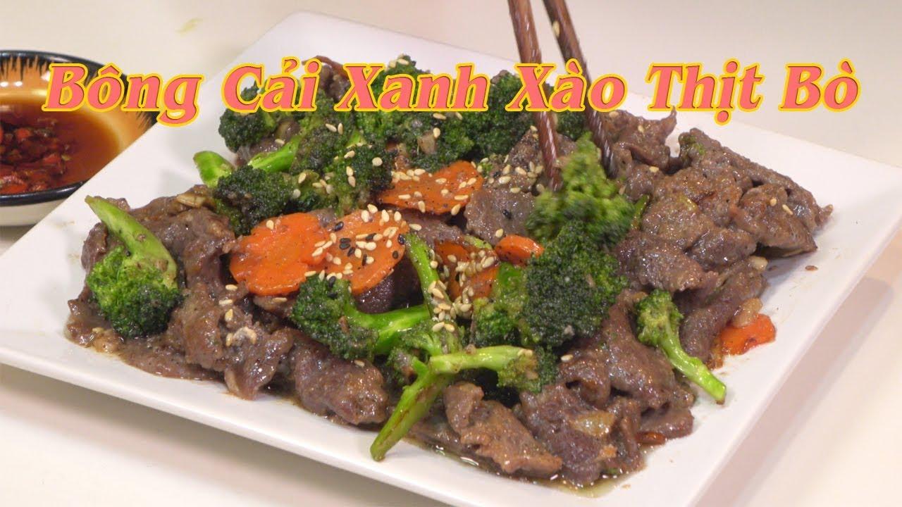 Thịt bò xào bông cải | Cách xào thịt bò chín mềm, không dai, khô, không hôi mùi bò  | Nguyễn Hải