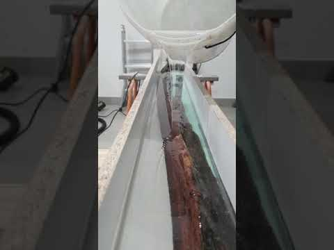 Amazing Resin Clear Epoxy  Wood Table Casting