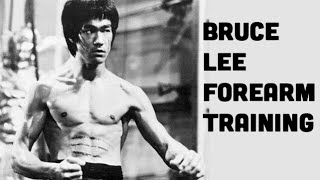Bruce Lee Forearm Workout: Insane Forearms Like Bruce Lee!